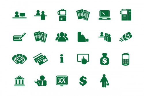 simplified icons for evolving brand applications